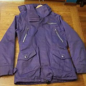 Burton purple winter coat